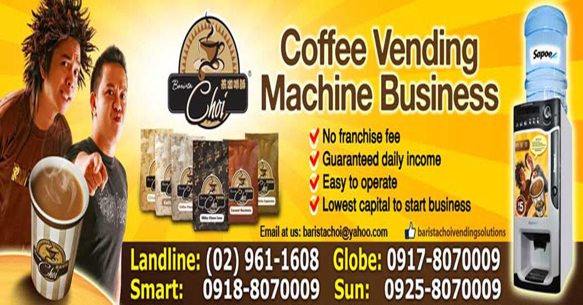Baristachoi Coffee Vending Machine