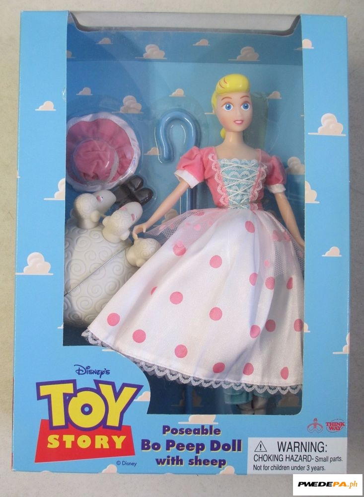 Rare Bo Peep Doll Toy Story By Thinkway