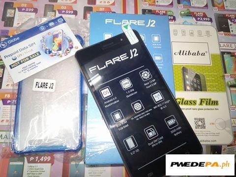 official photos ff8ec 3b556 Black Cherry Mobile Flare J2 Cellphone